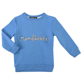 sweatshirt - mumsfilibabba! blue [raspberry republic]