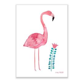 print A4 - flamingo [frau ottilie]