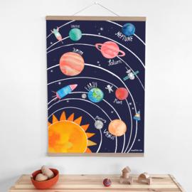 poster - solar system [frau ottilie]