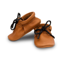 moccasins - henry cognac  [small & tiny]