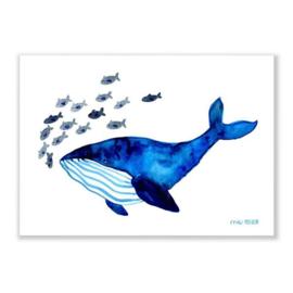 print A4 - walvis [frau ottilie]