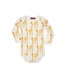 romper  'yellow giraffe' [milkbarn]