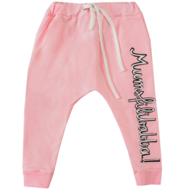 sweatpants - mumsfilibabba! pink [raspberry republic]