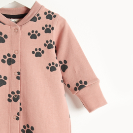 playsuit - pink paws [the bonniemob]