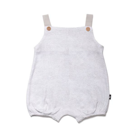 etch bubble playsuit - grey [anarkid]