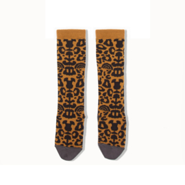 knee high socks - leopard [the bonniemob]