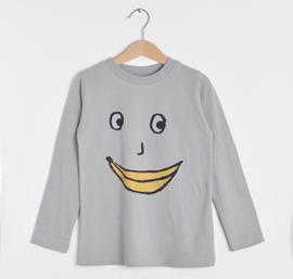 t-shirt banana face [nadadelazos]