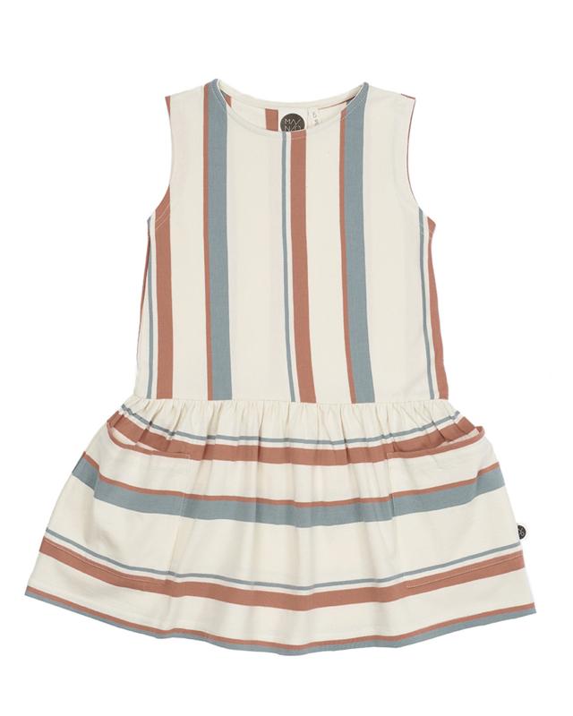 sleeveless pocket dress 'breeze' [mainio]