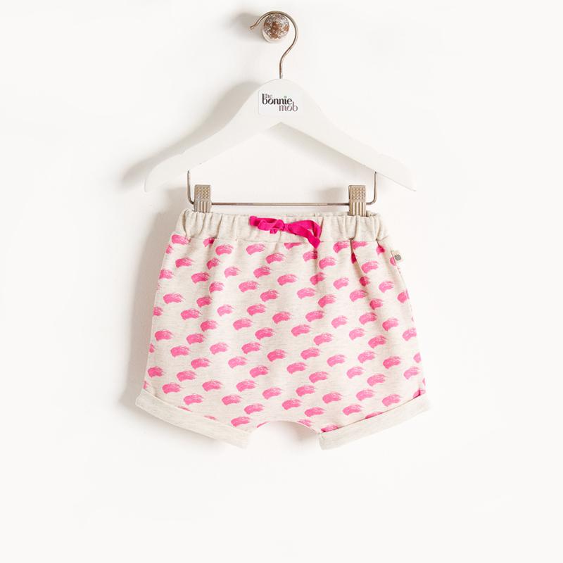 bloomer shorts - pink waves [the bonniemob]