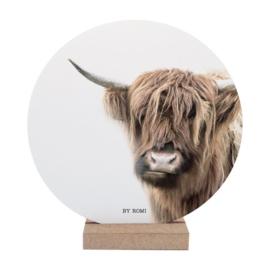 Wooncirkel / Schotse Hooglander / Bruin