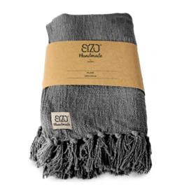 SIZO Plaid Denim-Grey 130x170 cm