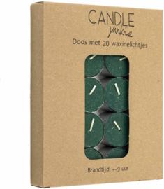 Waxines extra hoog doos met 20 stuks Groen