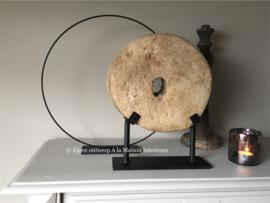 Metalen ornament op voet, 40 cm