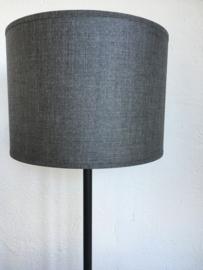 Cilinder lampenkap, kleur taupe