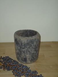 Stenen pot - vaas van PTMD - M.