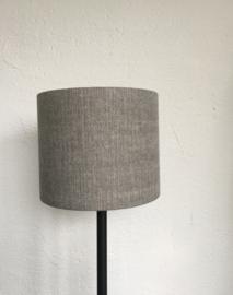Cilinder lampenkap, kleur vintage otter