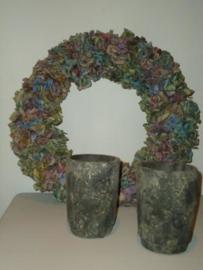 Stenen pot - vaas van PTMD - S.