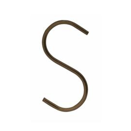 S-haak ( t.b.v  kapstok / kledingrek )