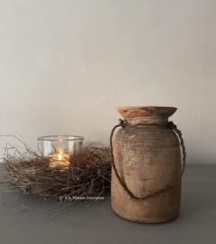 Oude houten payalipot