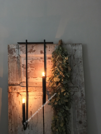 Chandelier de porte voor dinerkaars, recht, 75 cm