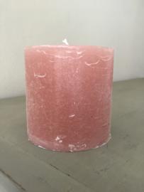 Stompkaars rustiek, kleur pearl, doorsnede 10 cm