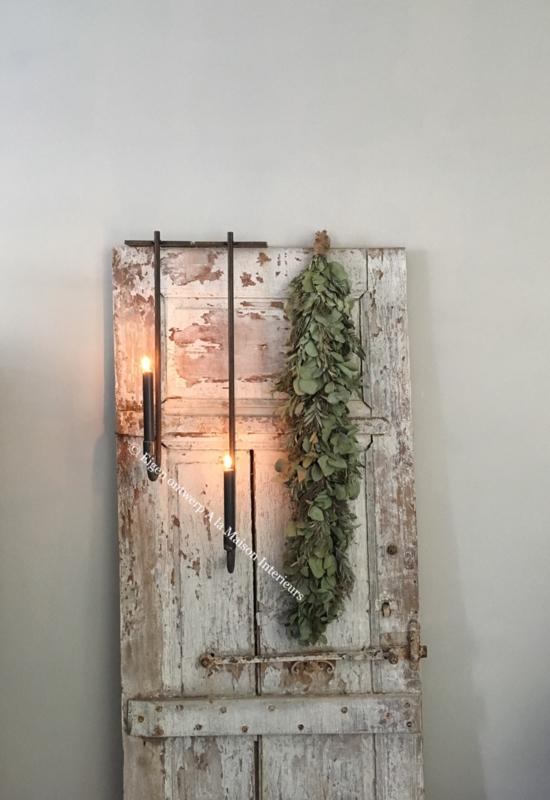 Chandelier de porte voor dinerkaars recht, 55 cm