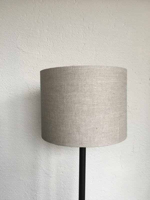 Cilinder lampenkap, kleur linnen donker ( 20x15 cm. )