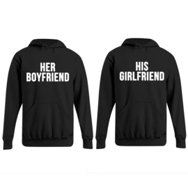 Hoodie Her Boyfriend & His Girlfriend