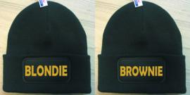 Muts Blondie & Brownie (Goud)