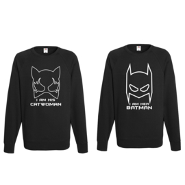 Sweater Batman & Catwoman