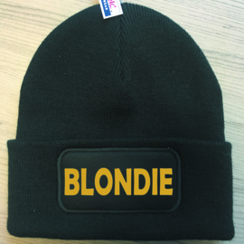 Muts Blondie (Goud)