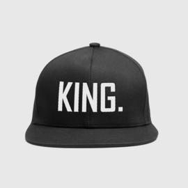 King & Queen cap geborduurd