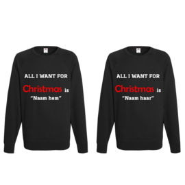 Sweater All I Want for Christmas