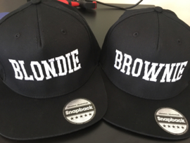 Blondie & Brownie Cap