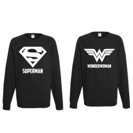 Sweater Superman & Superwoman
