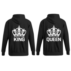 Hoodie King & Queen + Couronne