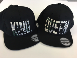 King & Queen Cap Camouflage