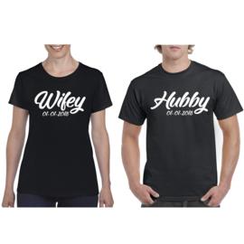 T-shirt Hubby & Wifey
