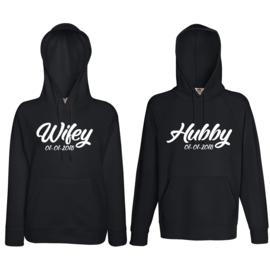 Hoodie Hubby & Wifey + Date