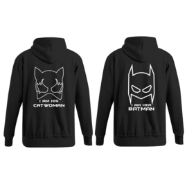 Hoodie Batman & Catwoman