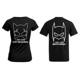 T-shirt Batman & Catwoman