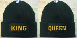 Muts King & Queen Goud