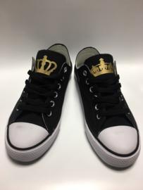Set King & Queen + Kroon schoenen (2 paar schoenen)