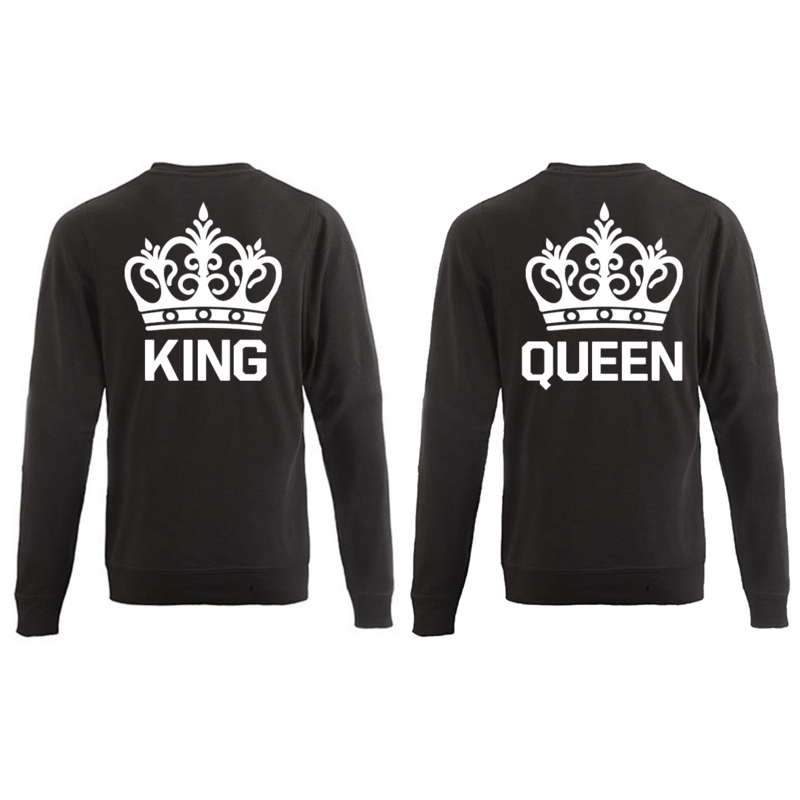 Sweater King & Queen + Couronne