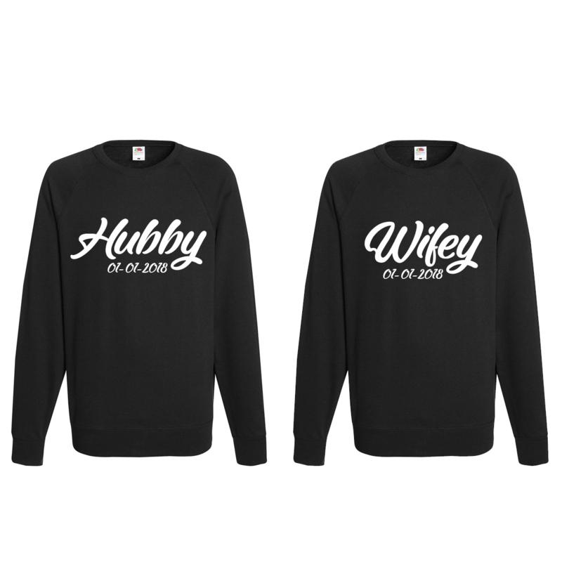 Sweater Hubby & Wifey + Date