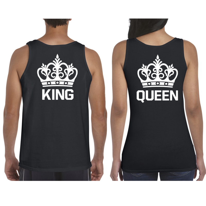 Débardeur King & Queen + Couronne