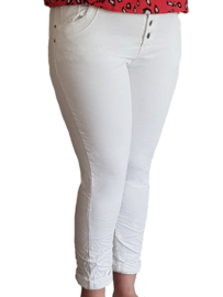 Karostar jeans wit (stretch)