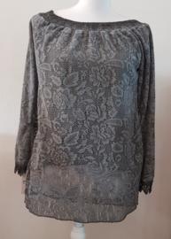 Shirt kant grijs
