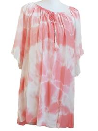 Tuniek dip dye roze