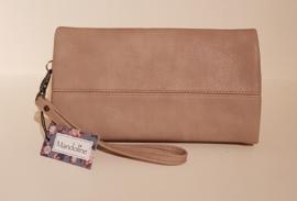 Clutch/portemonnee beige